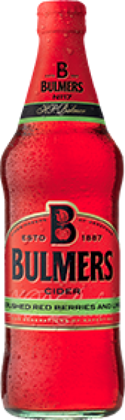 Bulmers Cider - Crushed Red Berries And Lime